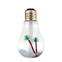 USB ultrasonic humidifier home office Mini aromatherapy colorful LED night light bulb aromatherapy atomizer creative bottle (Humidifier 2) - B01MR3AK7P