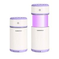 Witmoving Usb Humidifier Small Cool Mist Air Ultrasonic Desk Humidifier 200ML Portable For Cars and Baby Room  Smart Auto-Off Edition - B07FYX442W
