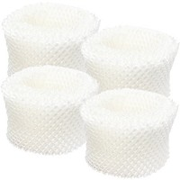 4-Pack Replacement HAC-504 filter for Honeywell - Compatible with Honeywell HCM-300T  Honeywell HCM-350  Honeywell HCM-631  Honeywell HAC-504AW  Honeywell HCM-710  Honeywell HCM-315T  Honeywell HAC-504  Honeywell HCM-630  Honeywell HCM-300  Enviracaire ECM-250i - B0106TFZKY