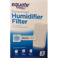 Equate Replacement Humidifier Filter for use with Cool Mist Humidifiers for use with EQ2119-UL  ProCare PCCM-832N  ReliOn-RCM-832 & 832N  Robitussin DH-832  Duracraft DH-830  SS SH100&SH200 - B077V4QDP5