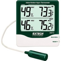 Extech 445713 Big Digit Indoor/Outdoor Hygro-Thermometer - B000WTH3NQ
