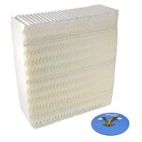 HQRP Wick Filter for Essick Air AIRCARE 1043 Replacement fits AIRCARE Essick Air models EP9 EP9R 800 series Humidifiers + HQRP Coaster - B078KZK5LV