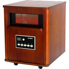 Optimus H-8121 Infrared Quartz Heater with Remote and LED Display - B00MB4VRN2