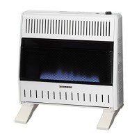 ProCom MNSD300TBA-BB Dual Propane/Natural Gas Blue Flame Vent-Free Gas Space Heaters  30 000 BTU  Blower and Base Included - B01KQIPFYG