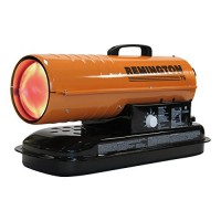 REMINGTON REM-75T-KFA-O Kerosene/Diesel Forced Air Heater with Thermostat  75 000 Btu - B0778YHGRC