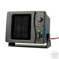 RoadPro RPSL-681 12V Direct Hook-Up Ceramic Heater/Fan with Swivel Base & with Mini Tool Box (cog) - B009P8HBH8