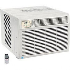 230/208V Window Air Conditioner with Heat  18  500 BTU Cool  16  000 BTU Heat - B005EAE95I