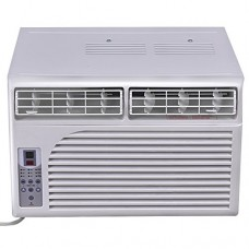 Costway Cold Air Conditioner Window-Mounted Compact w/ Remote Control 115V  White (6000 BTU) - B072ZYP83F