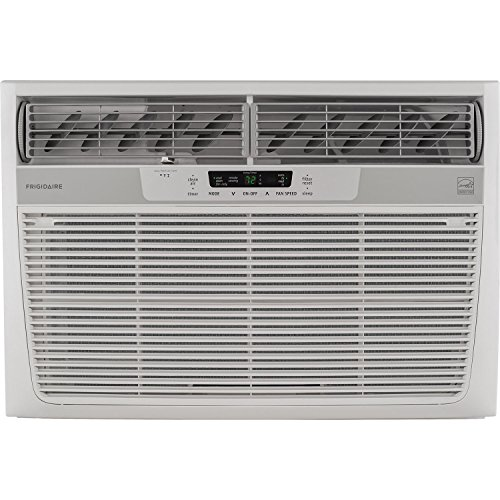 Frigidaire 25000 BTU 230V Window-Mounted Heavy-Duty Air Conditioner with Temperature Sensing Remote Control  White - B07BN3X7NC
