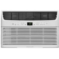 "Frigidaire FFRE0833U1 21"" Energy Star Rated Window Air Conditioner with 8 000 BTU Cooling Capacity in White - B07BKV62TR"