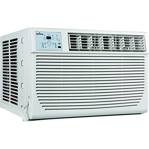 GARRISON 2477801 R-410A Through-The-Window Heat/Cool Air Conditioner with Remote Control  8000 BTU  White - B00VQ8ED80