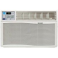 Sharp AFQ80VX Energy Star 8000 BTU Window-Mounted Air Conditioner with Rest Easy Remote Control  110-volt - B00LM5E38W