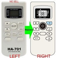 HA-701 Replacement for SOLEUS AIR Conditioner Remote Control works for TM-PAC-08E3 TM-PAC-12E4 TM-PAC-10E3 - B01KDVMSYQ