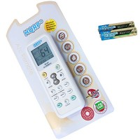 HQRP Universal A/C Remote Control for TADIRAN Air Conditioner/Fahrenheit displaying plus HQRP Coaster - B005R2AJRA