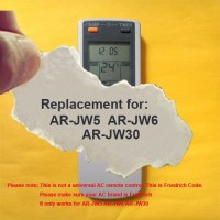 Replacement for FRIEDRICH Air Conditioner Remote Control Model Number: AR-JW5 AR-JW6 AR-JW30 (Display in Celsius but it also can work for Fahrenheit display AC) - B06Y12Y6TK