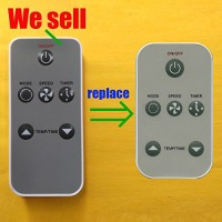 Replacement for Haier Air Conditioner Remote Control 0010403473 works for HWR08XC5-T HWR08XC7-T HWR08XCJ HWR10XC5 HWR10XC5-T HWR10XC6 HWR10XC6-T HWR10XCJ HWR12XC5 HWR12XC8 HWR12XCJ - B01NAMMTCM