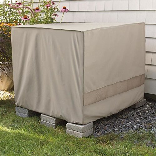 Weather Wrap Square Central Air Conditioner Cover - B0047YC5UI