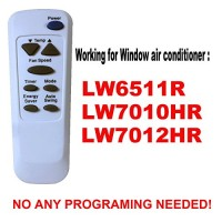 YING RAY Replacement for LG Window Air Conditioner Remote Control for LW6511R LW7010HR LW7012HR - B07CTLXSY4