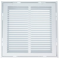 "12 (Width) x 12 (Height) 12""x12"" Return Air Filter Grille - B00W2DQ67E"