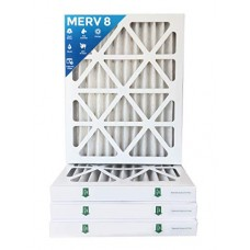 "16x24x2 MERV 8 AC Furnace 2"" Inch Air Filters - 12 PACK - B01N5JZ2MV"