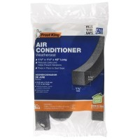 Thermwell AC42H 1-1/4 x 1-1/4 x 42-Inch Air Conditioner Foam Weather Seal - Quantity 1 - B06X9Q26Z5