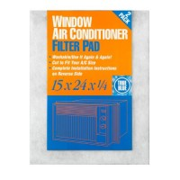 True Blue Washable Window Air Conditioner Filter Pad  15x24  12 Pack - B00EZN1JDU