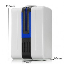 Air Purifier Plug in Wall Ionizer for Home Hotel Office Toilet  Odor Allergies Eliminator for Smokers  Smoke  Dust  Mold  Home and Pets  Air Cleaner - B077Z9MNXP