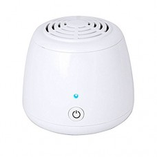 Ozone Generator Air Purifier  Bao Sheng@ USB Portable Remove Cigarette Smoke Odor Smell Bacteria Mini Air Cleaner Filter for Small Bedroom Pets Room Refrigerator Car Traveling (GL-136) - B079683XGH
