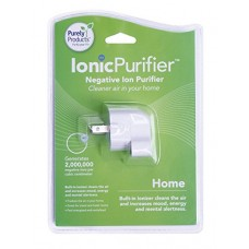 Purely Products Ionic Purifier Negative Ion Generator for Home and Office (White) - B00066DGFO