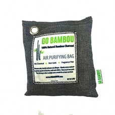 Go Bambou 100% Natural Bamboo Charcoal Air Purifying Bag - 200g (4) - B01KU0I0DS
