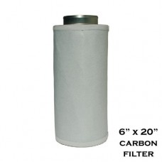 "Performance 6"" x 20"" Activated Carbon Scrubber Odor Control Filters W/ Prefilter - B004OGUKJM"